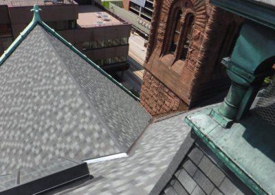 Central Presbyterian St. Paul MN DECRA XD Shingle Natural Slate (1)